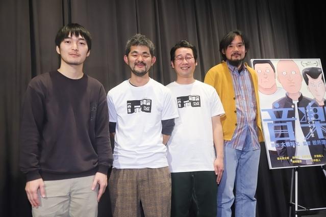 7年かけて完成したアニメ映画「音楽」、坂本慎太郎やドレスコーズに出演交渉したのは?