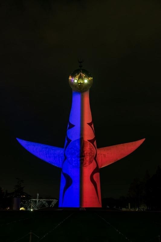 万博記念公園太陽の塔