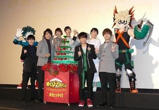 井上芳雄、劇場版「ヒロアカ」で演じたヴィランは「強すぎてビックリ」