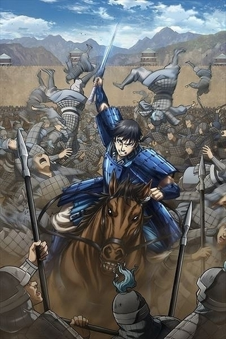 「キングダム」信が敵陣に切り込む「合従軍編」ティザービジュアル公開 今泉賢一監督らスタッフも発表