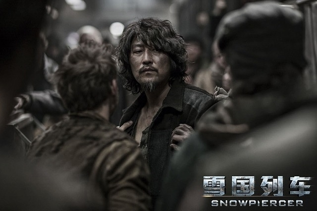 「スノーピアサー」中国版ポスター