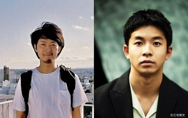 佐藤快磨監督(左)と仲野太賀