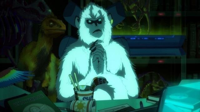 """""""猿""""の姿をした謎の男・ジル"""