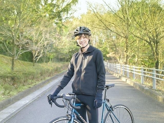 19年12月から自転車練習をスタートさせた永瀬廉