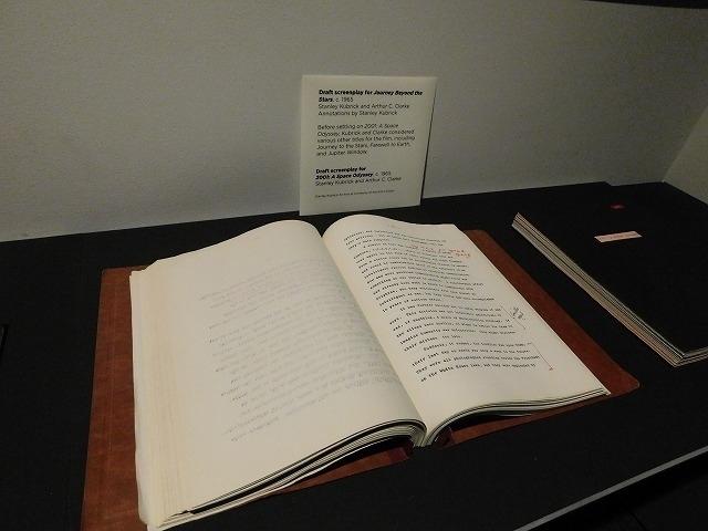 「2001年宇宙の旅」脚本の草稿