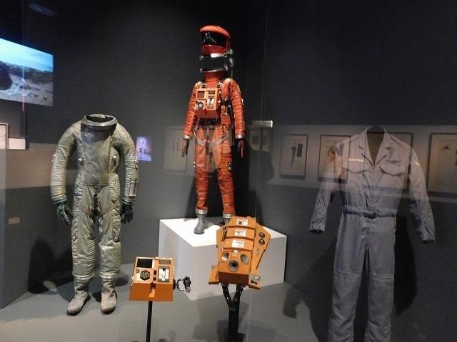 実際に使用された宇宙服