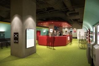 「アップリンク京都」4月16日オープン!レトロモダンな地下鉄駅をイメージした空間に