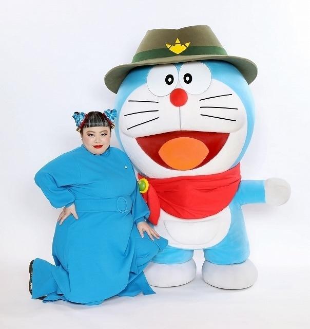 """""""ドラえもんスタイル""""でドラ愛爆発!"""