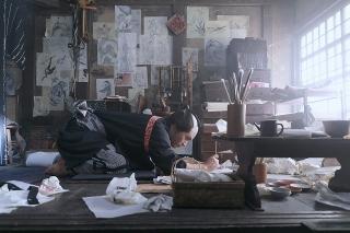 """柳楽優弥&田中泯が""""画狂人生""""を貫く! 「HOKUSAI」特報&場面写真がお披露目"""