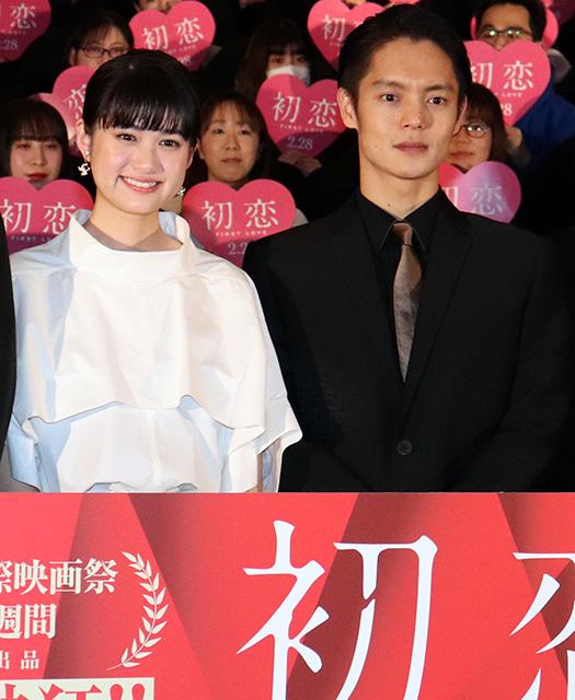 窪田正孝と小西桜子