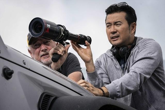 シリーズに復帰したジャスティン・リン監督(右)