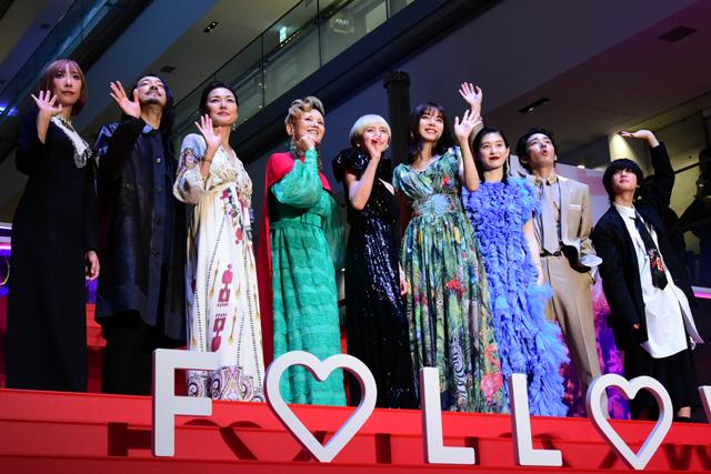 中谷美紀&池田エライザにファン熱狂 板谷由夏と夏木マリは恋よりも「仕事!」