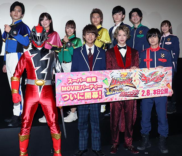 史上初の4戦隊共演、伊藤あさひ&結木滉星がファンに感謝「皆のおかげ」