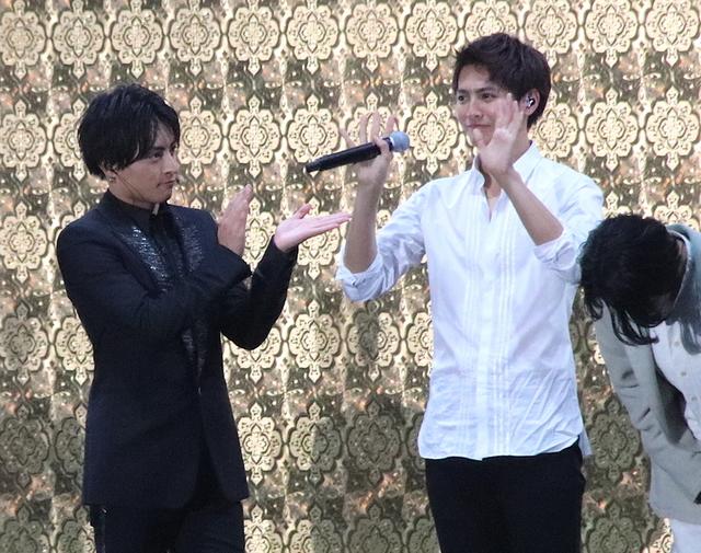 片寄涼太、自身初のソロ曲を生披露!白濱亜嵐らとの「貴族降臨」イベントに1万1000人が熱狂 - 画像1