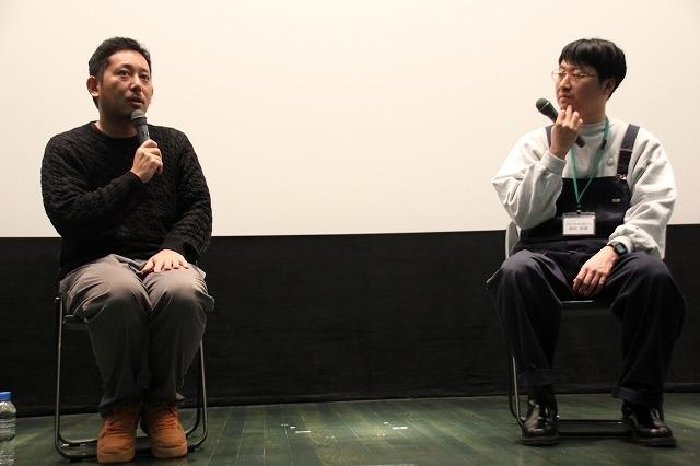 入江悠監督(左)と森田和樹監督