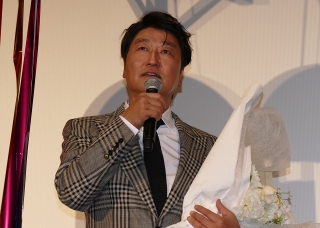 草なぎ剛「パラサイト」歴史的快挙を祝福 ポン・ジュノ監督に鋭い質問も