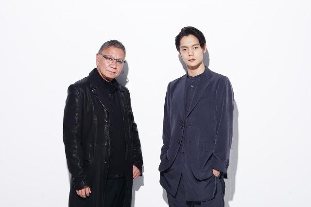 (左から)三池崇史監督、窪田正孝