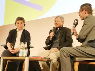 ベルリン映画祭でアン・リーと是枝裕和が対談 お互いの好きな作品を上映