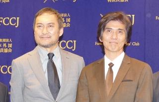 佐藤浩市と渡辺謙、「Fukushima 50」に込めた思いを海外メディアに熱弁