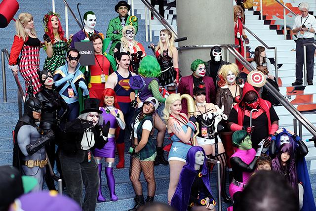DCコミックスは3月いっぱい参加を見送る決定
