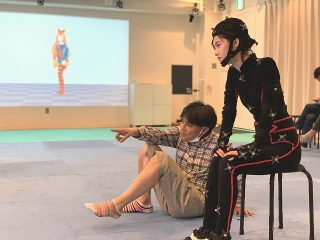 飯塚俊光監督「踊ってミタ」で加藤小夏が人生初のモーションキャプチャーに挑戦!