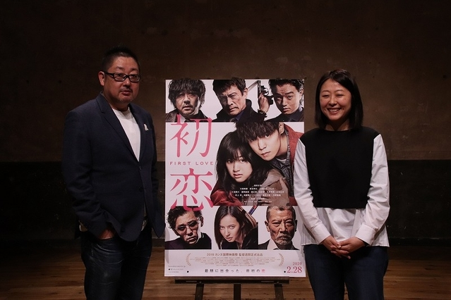 プロデューサー・紀伊宗之氏(左)と、MCの月永理絵氏