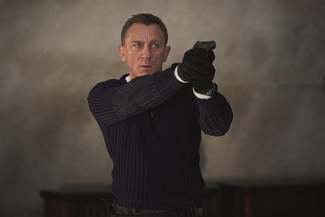 「007 ノー・タイム・トゥ・ダイ」の一場面
