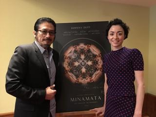 """真田広之&美波がにじませるジョニー・デップへの謝意 「MINAMATA」で再認識した日本人の""""心"""""""