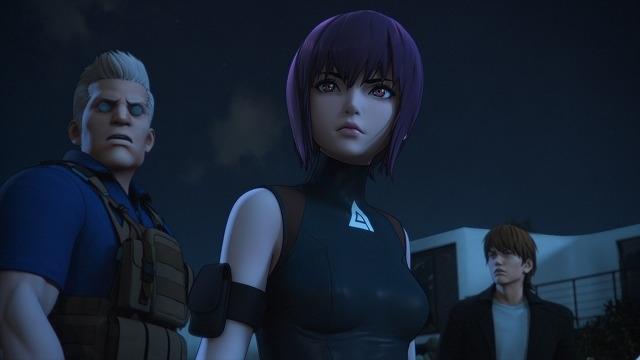 「攻殻機動隊 SAC_2045」メインキャラクターが集結した場面写真初披露!