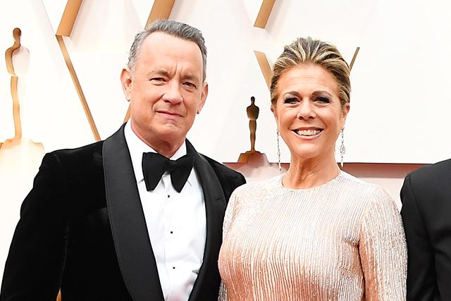 新型コロナウイルスに感染したことを明かしたトム・ハンクスと妻リタ・ウィルソン
