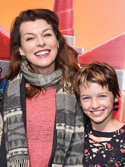 ミラ・ジョボビッチと長女のエバー・アンダーソン