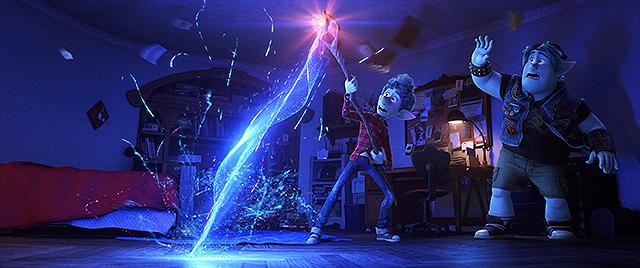 【全米映画ランキング】新型コロナ感染拡大の影響広がる中、ピクサー最新作「2分の1の魔法」がV2