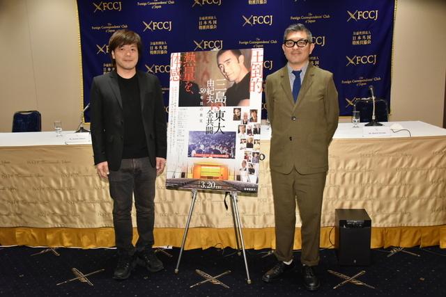 平野啓一郎氏(左)と豊島圭介監督