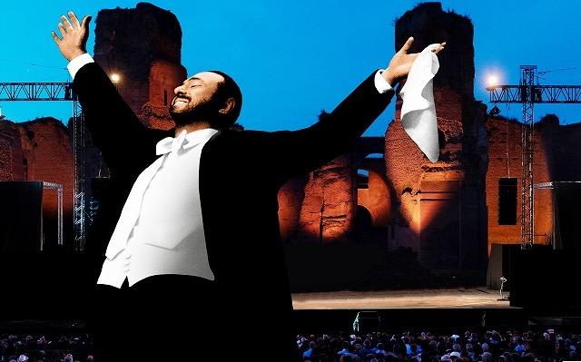 """オペラ歌手パバロッティの""""神の声""""が最新音響技術でよみがえる! ロン・ハワード監督作、予告入手"""