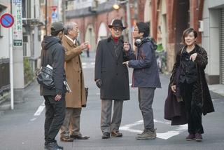 日本映画界を支える俳優陣が豪華競演 石橋蓮司主演作「一度も撃ってません」撮影現場に潜入