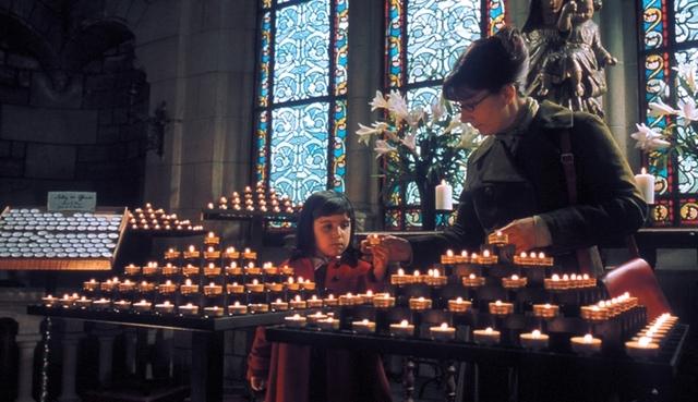 「アメリ」ノートルダム大聖堂内での一場面