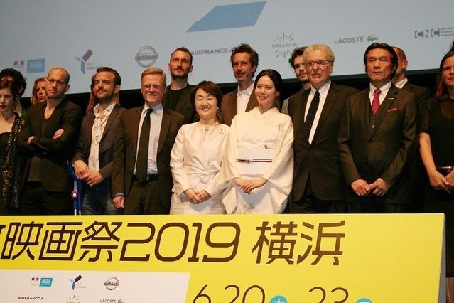 昨年開催された「フランス映画祭2019 横浜」の模様