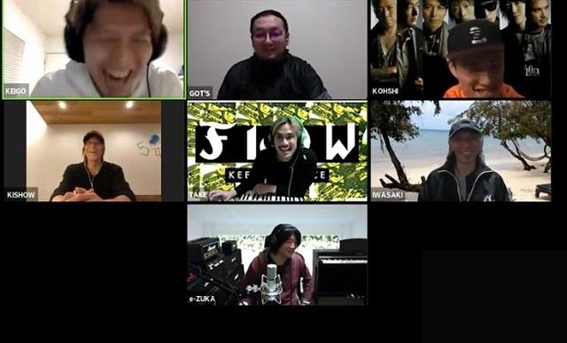 FLOWが自宅から生配信した「FLOW THE TV」アーカイブ公開 GRANRODEOがうっかり新情報をポロリ