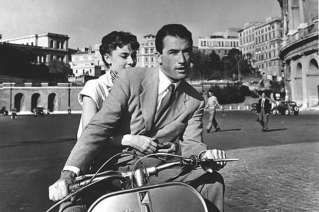 「ローマの休日」 写真:AFLO