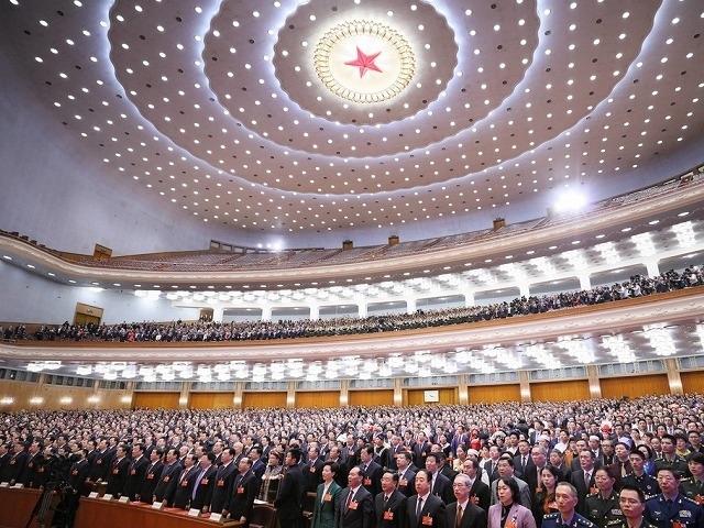 全国人民代表大会の光景
