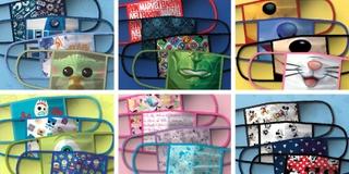 米ウォルト・ディズニー、人気キャラクターの布マスク発売を発表