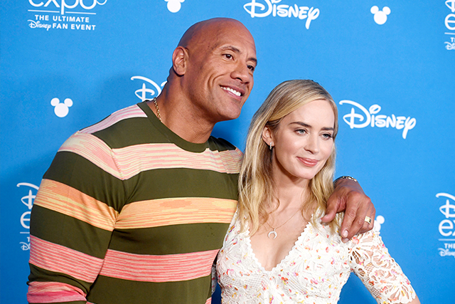 ドウェイン・ジョンソン&エミリー・ブラントが夫婦役 ヒーローコミック「Ball And Chain」映画化に主演
