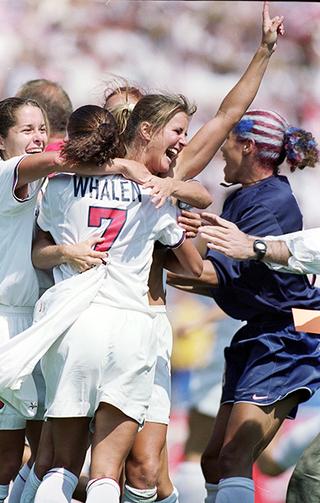 1999年女子W杯優勝のアメリカ代表サッカーチームの活躍をNetflixが映画化