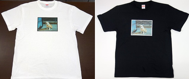 サイズはS~Lの3種類、カラーは白、黒の2種類