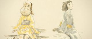湯浅政明監督「犬王」松本大洋氏のキャラ原案を初披露 伊東伸高、松本憲生ら制作スタッフも明らかに