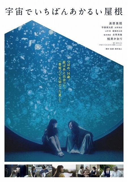 クラゲ展示数世界一を誇る「加茂水族館」でのシーンを使用