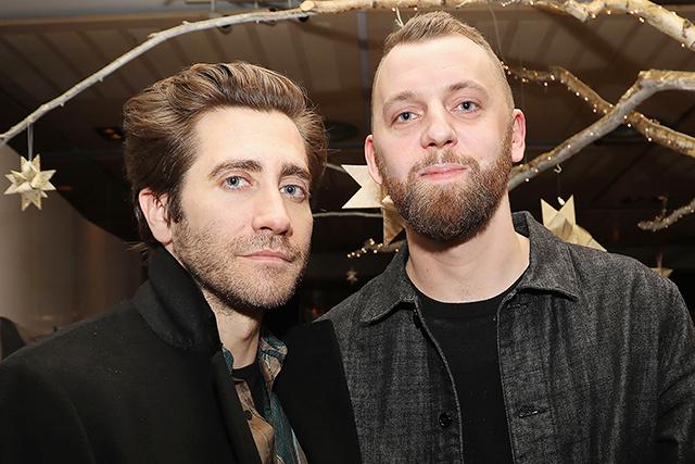 ジェイク・ギレンホール(左)とグスタフ・モーラー監督