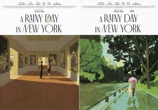 木内達朗×大島依提亜!「レイニーデイ・イン・ニューヨーク」オリジナルイラストポスター