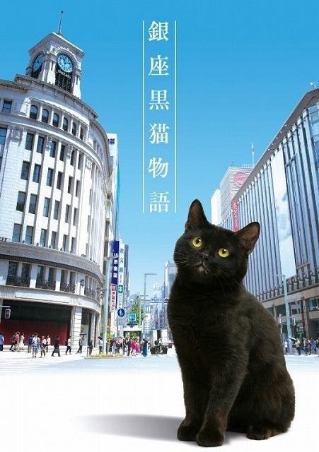 東京・銀座を住みかにする黒猫が、人生に迷う人々を実在する銀座の名店に導いていく