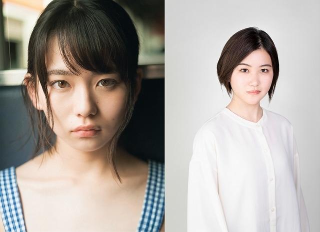 山田杏奈(左)&山口まゆ